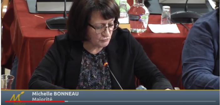 Conseil municipal du 28 mars 2018 – Intervention de Michelle Bonneau sur la petite enfance