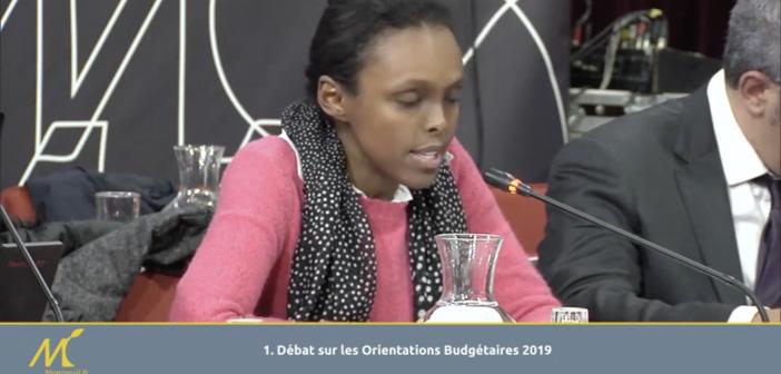 Intervention (CM 6 février 2019) : Choukri Yonis sur l'orientation budgétaire